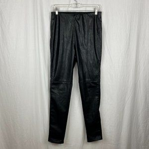 Divided by H&M Black Faux Leather Pants Size 12